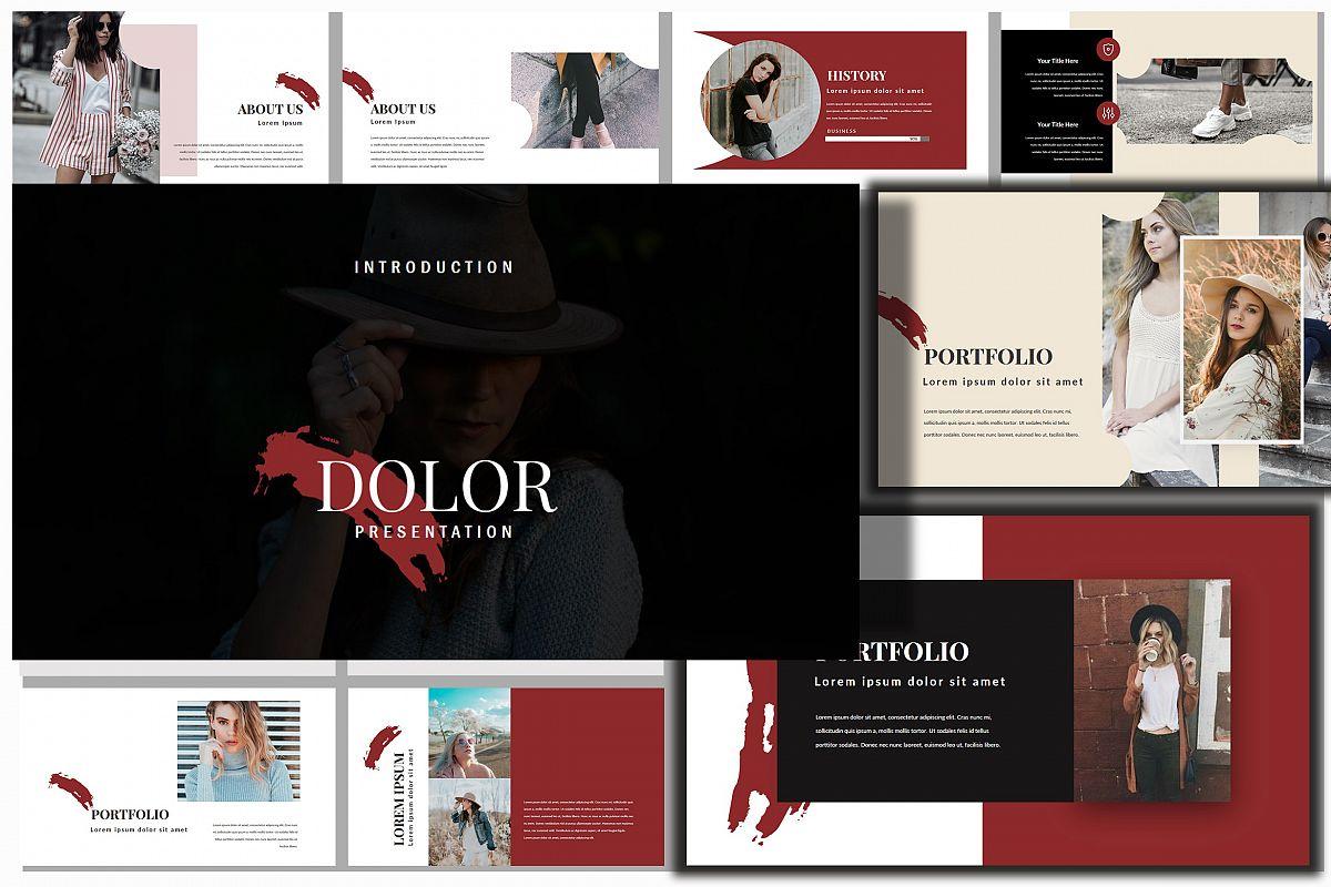 Dolor Stylish PowerPoint example image 1