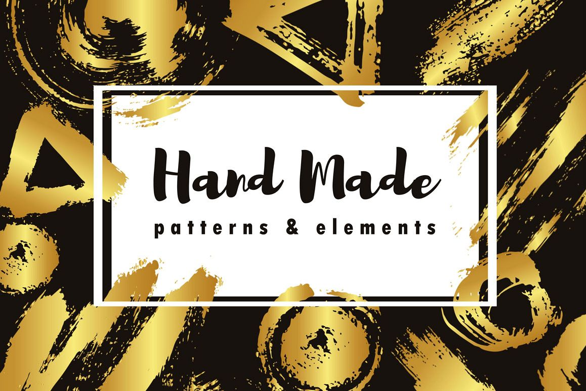 Gold Brush Hand Made example image 1