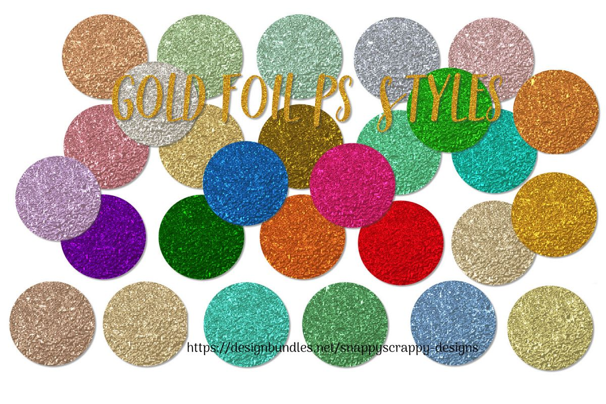 Gold Foil PS Styles example image 1