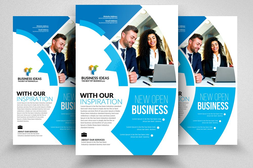 Business Strategic Flyer Templates Ad