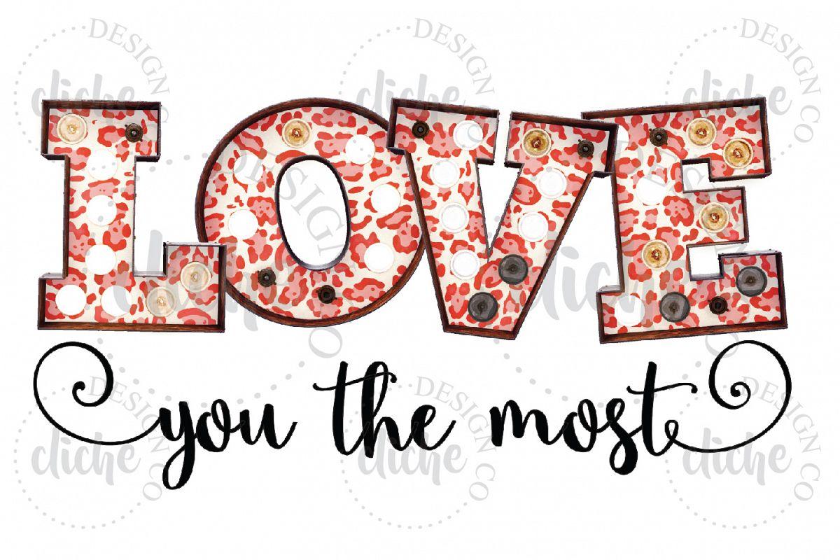 Valentine Sublimation Design example image 1