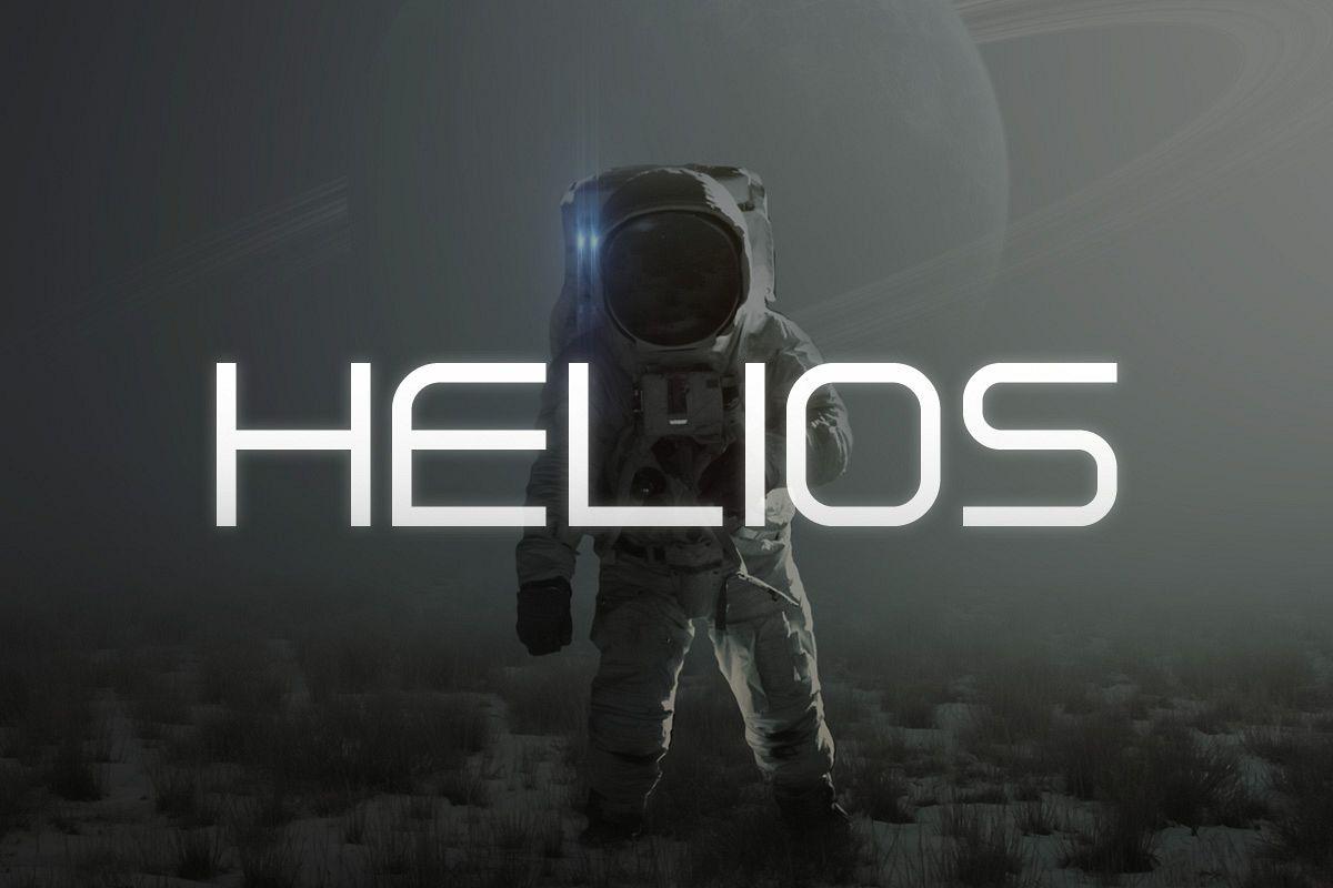 Helios Typeface example image 1