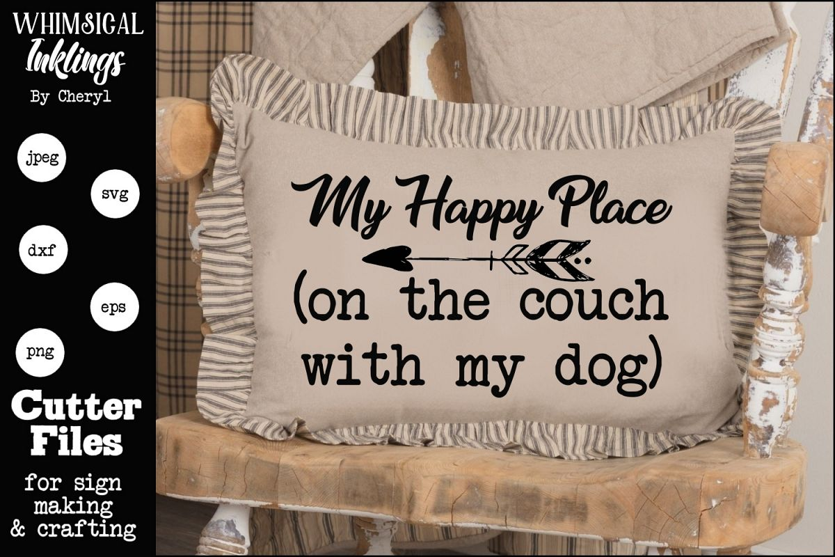 My Happy Place SVG example image 1