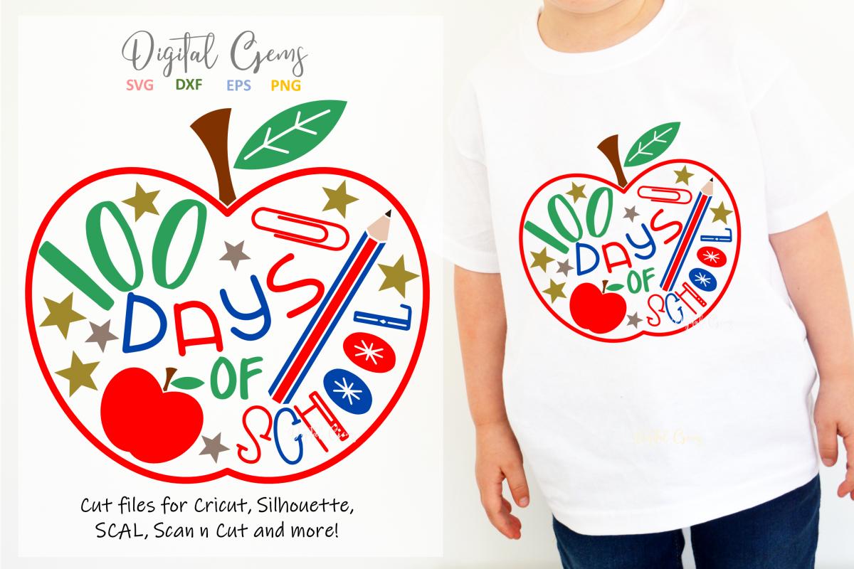 100 days of School design example image 1