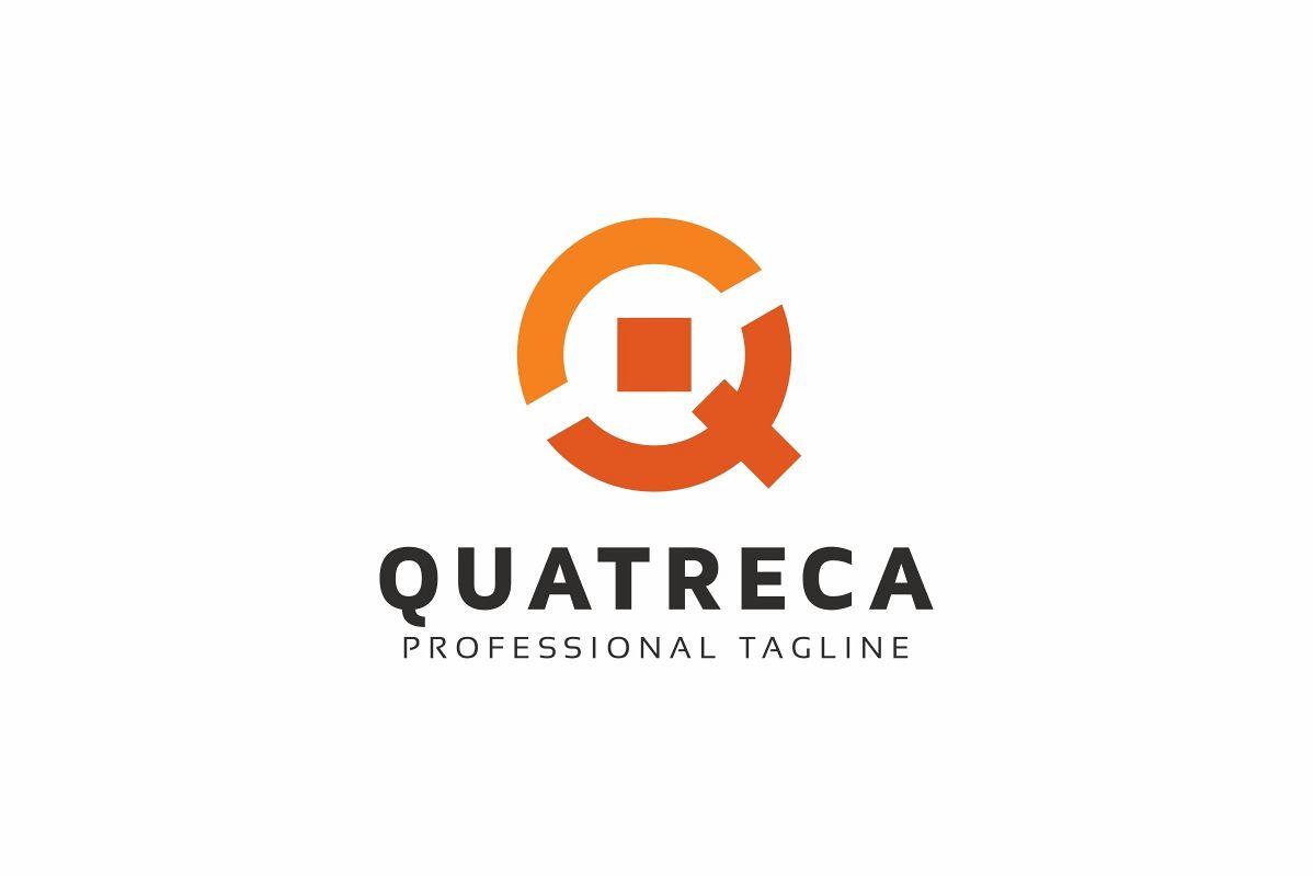 Quatreca Q Letter Logo example image 1