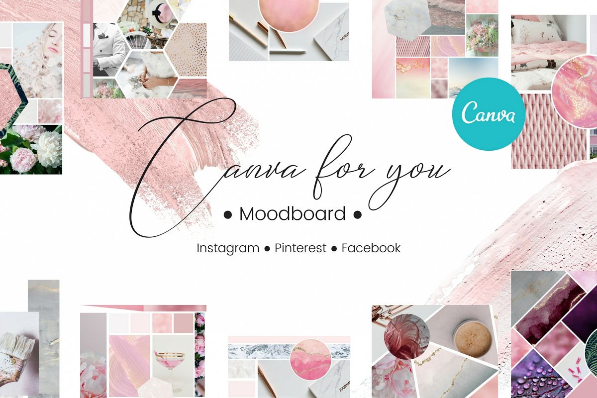 Canva for you - Moodboard example image