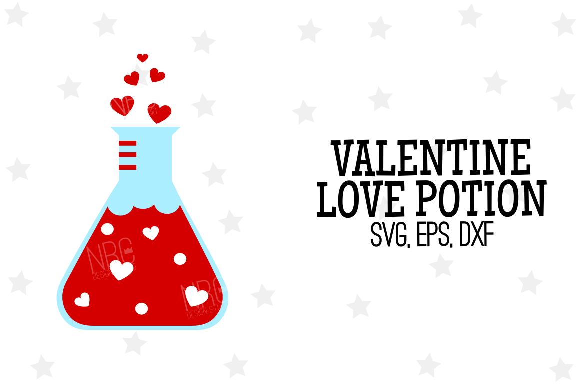 Valentine Love Potion SVG File example image 1
