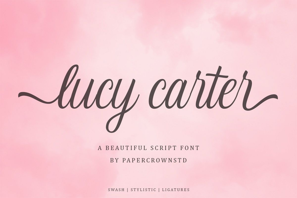 Lucy Carter Script example image 1