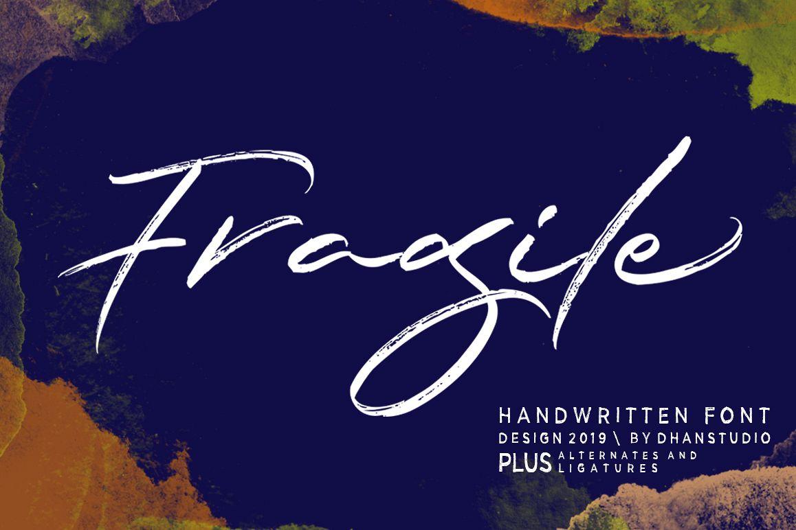 Fragile Script example image 1