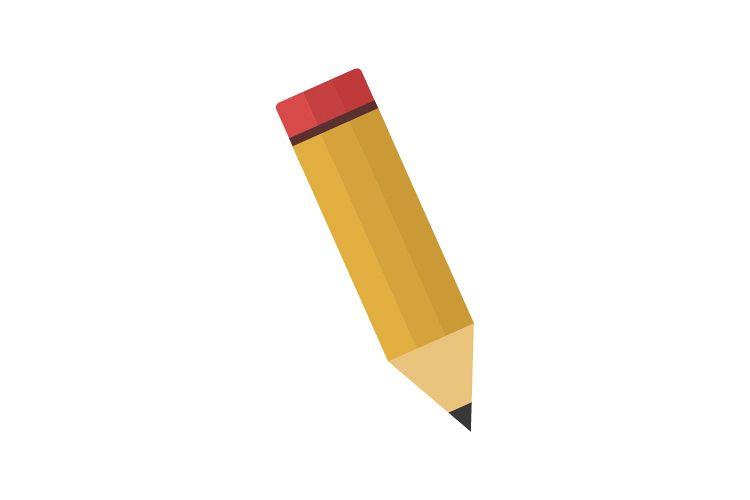 Pencil icon example image 1