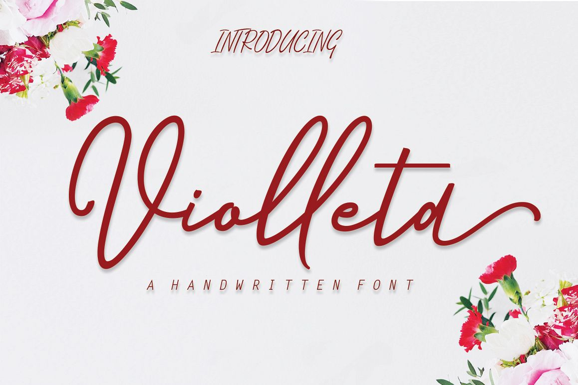 Violleta Script example image 1