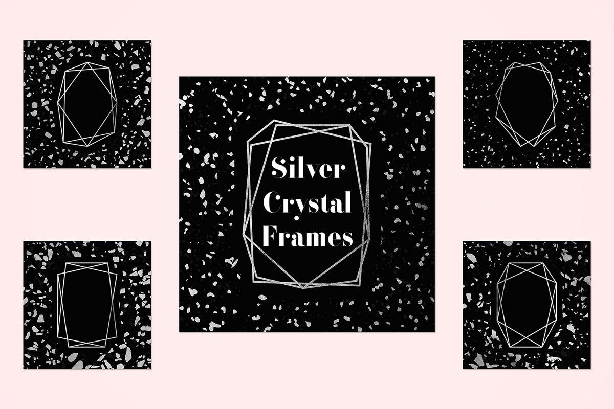 Metallic Frame Backgrounds example image 1
