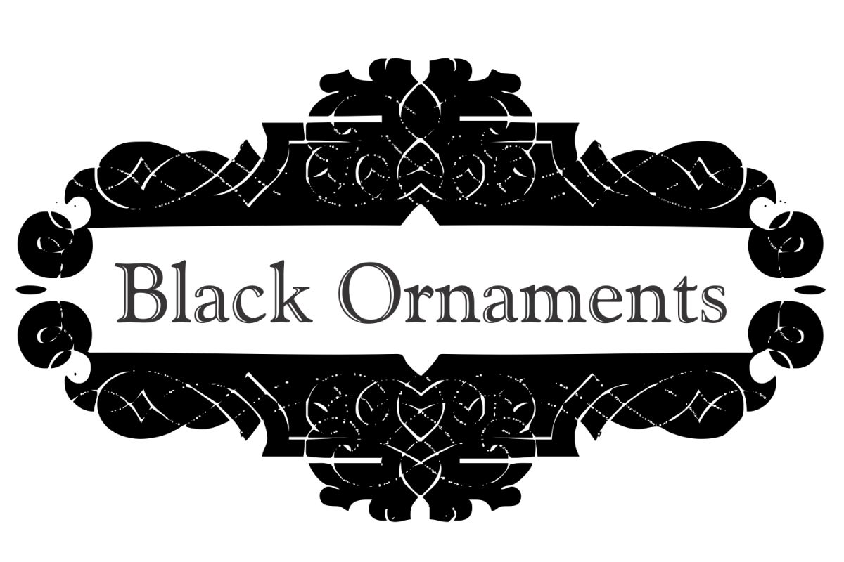 Black Ornaments  example image 1