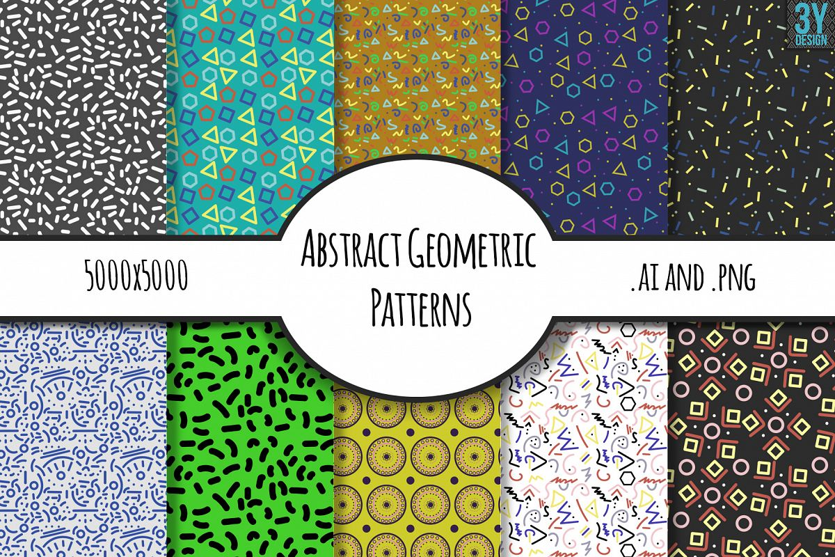 Abstract Geometric Patterns example image 1