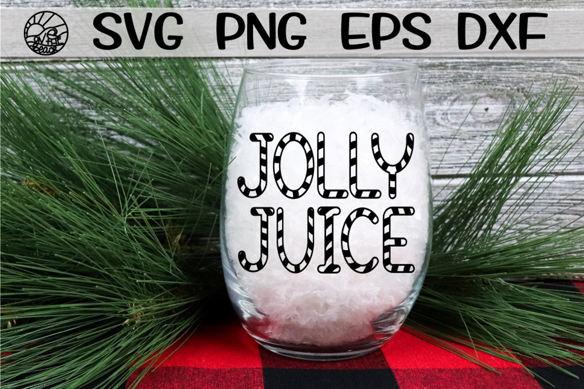 JOLLY JUICE - SVG PNG EPS DXF example image 1