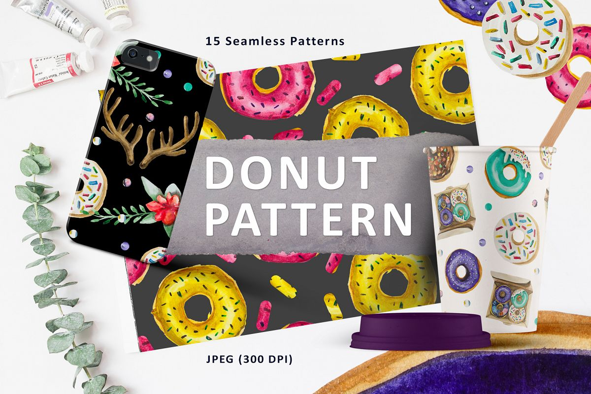 Donut Pattern example image 1