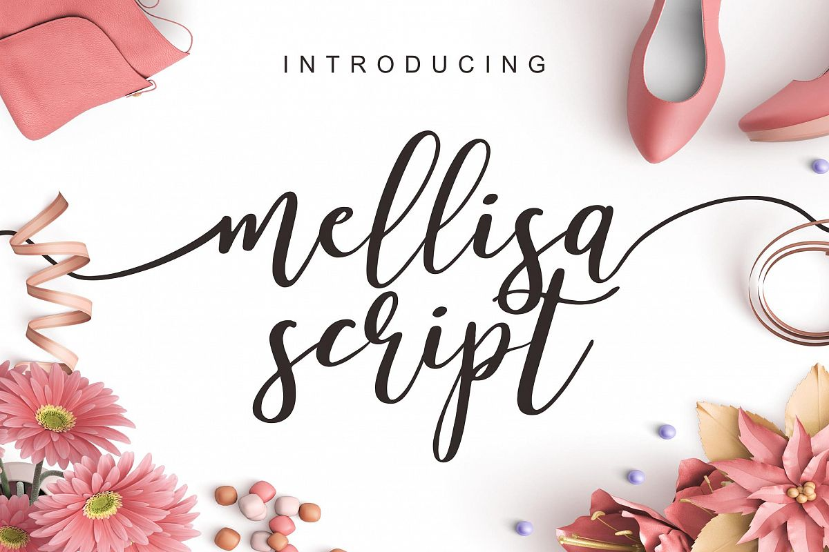 Mellisa Script and Extras example image 1