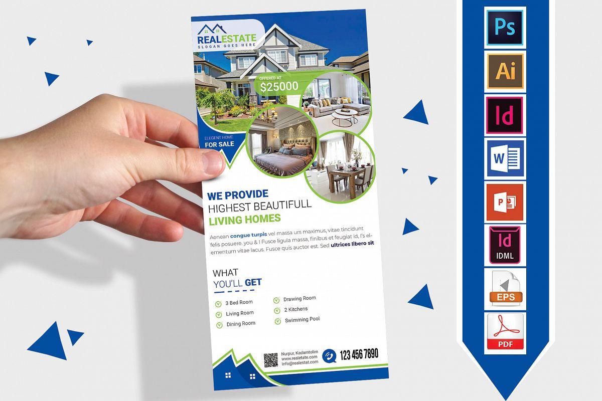 Rack Card | Real Estate DL Flyer Vol-02 example image 1