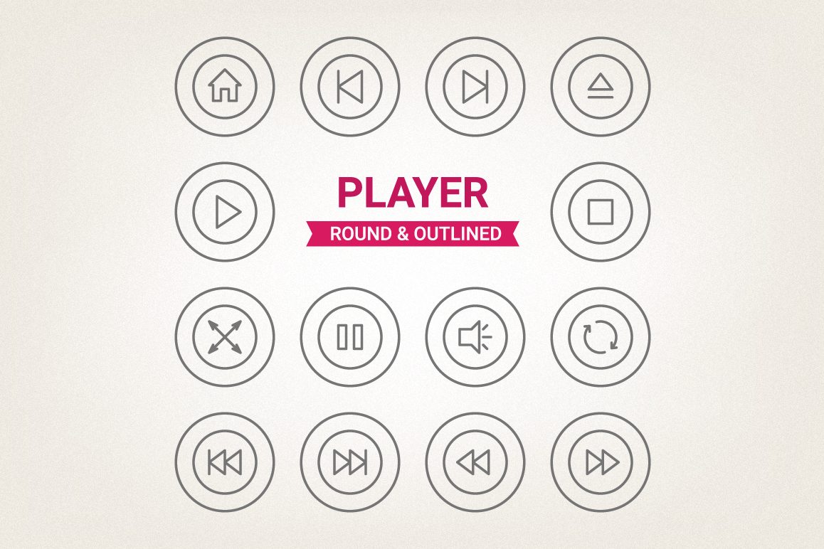 Circle Player Icons example image 1