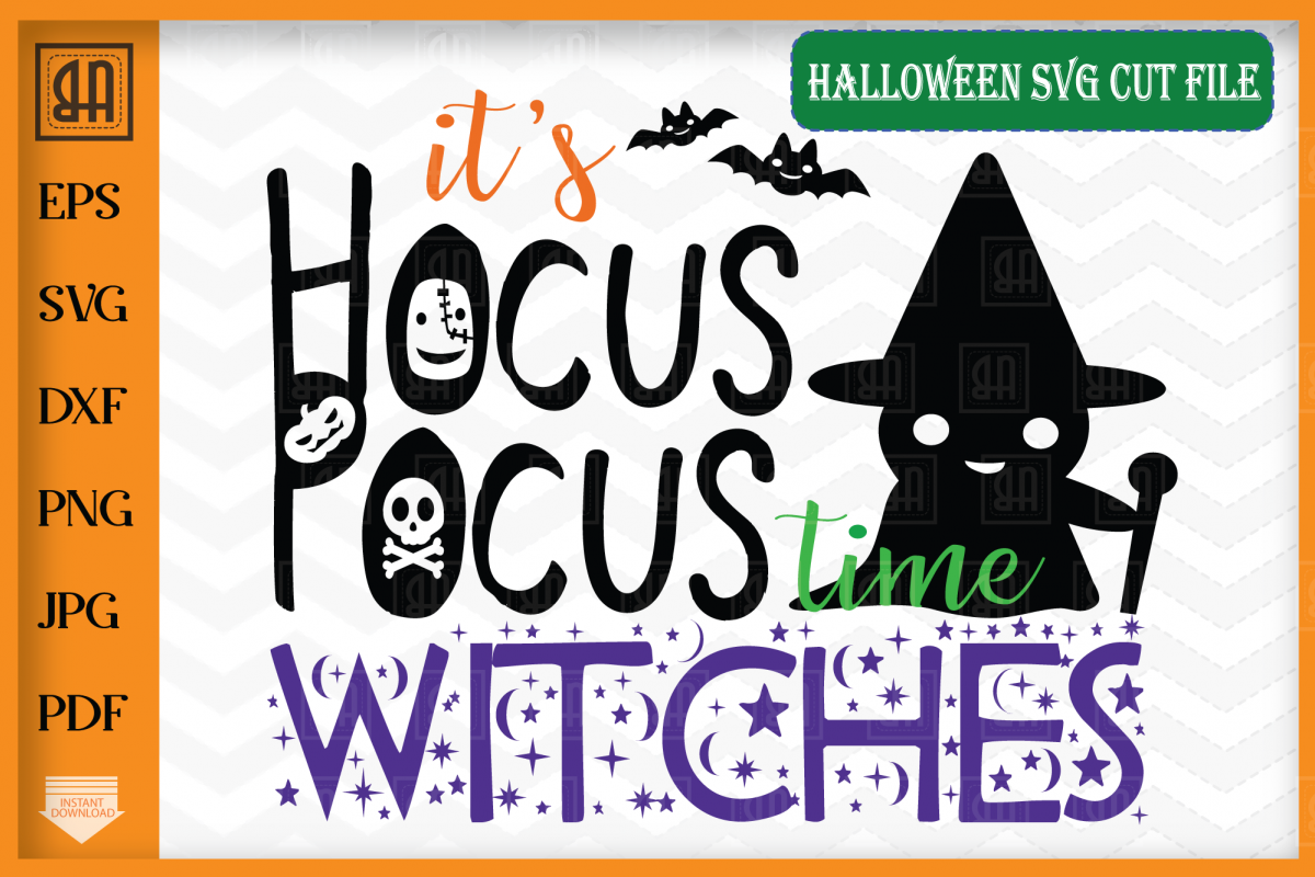 Hocus Pocus time svg - Witches SVG - Halloween SVG example image 1