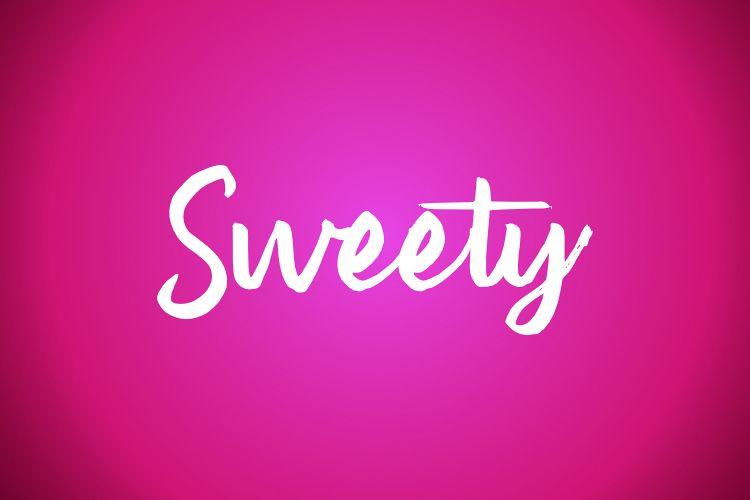 Sweety Typeface example image 1