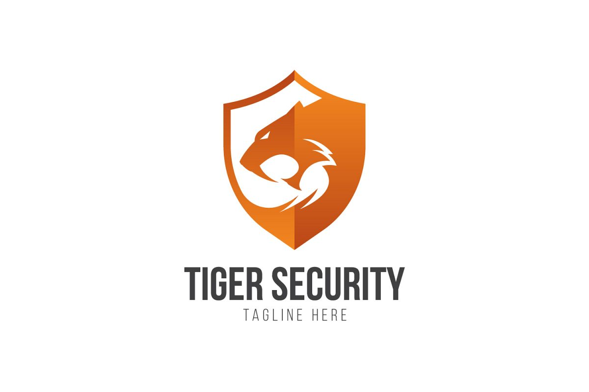 Tiger Shield Logo example image 1