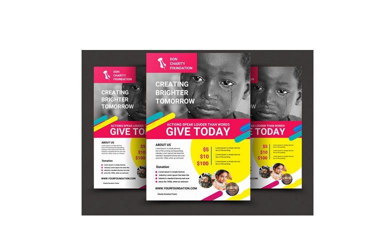CHARITY FLYER example image 1