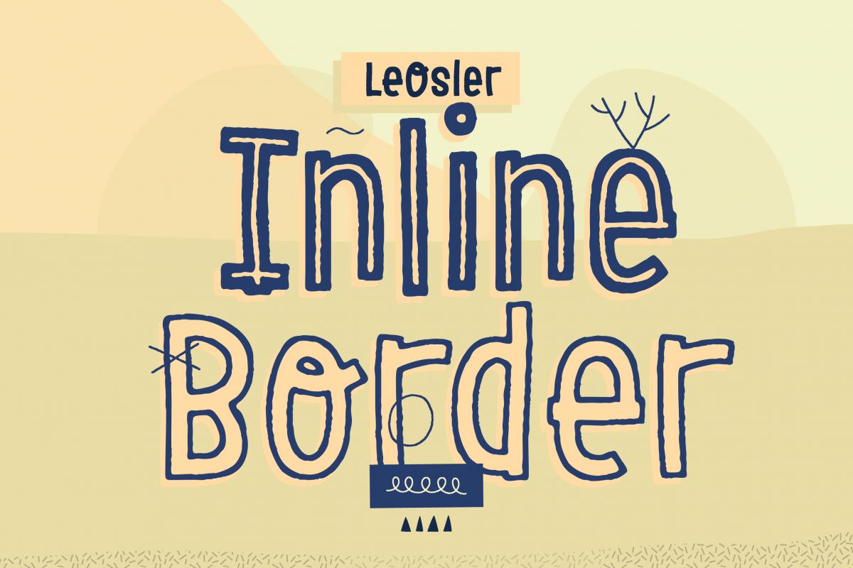 LeOsler Inline & Border example image 1