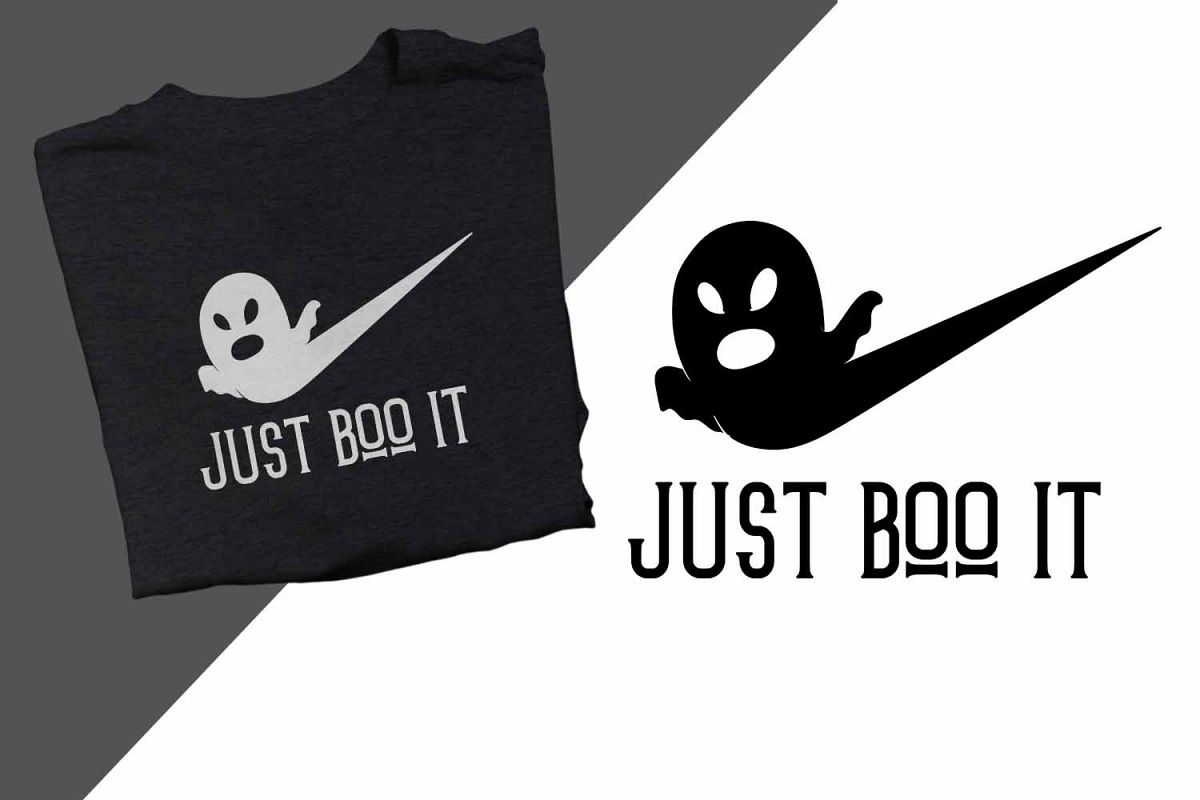Just boo it Halloween Printable example image 1