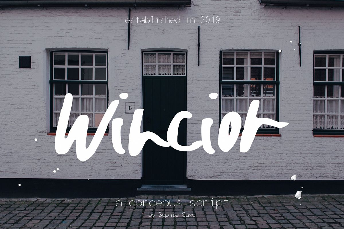 Wincior Font example image 1
