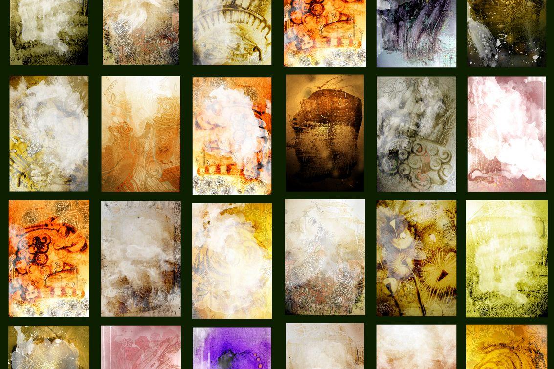 Unique Graphic background Texture BUNDLE example image 1