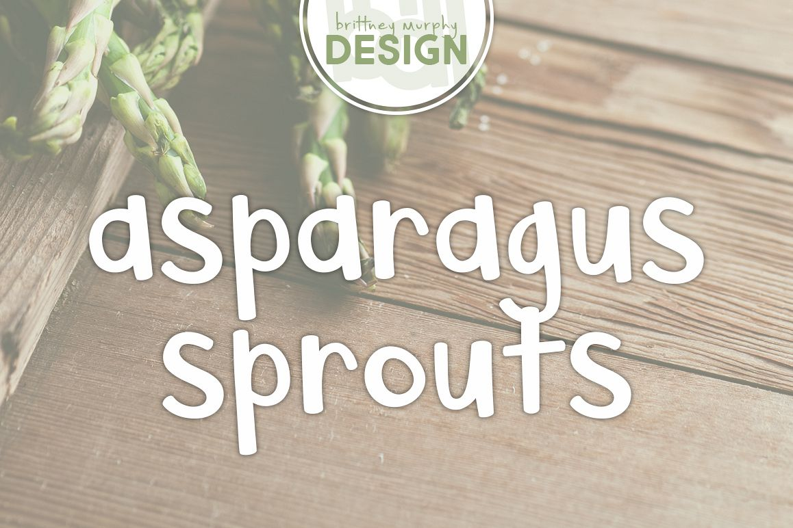 Asparagus Sprouts example image 1