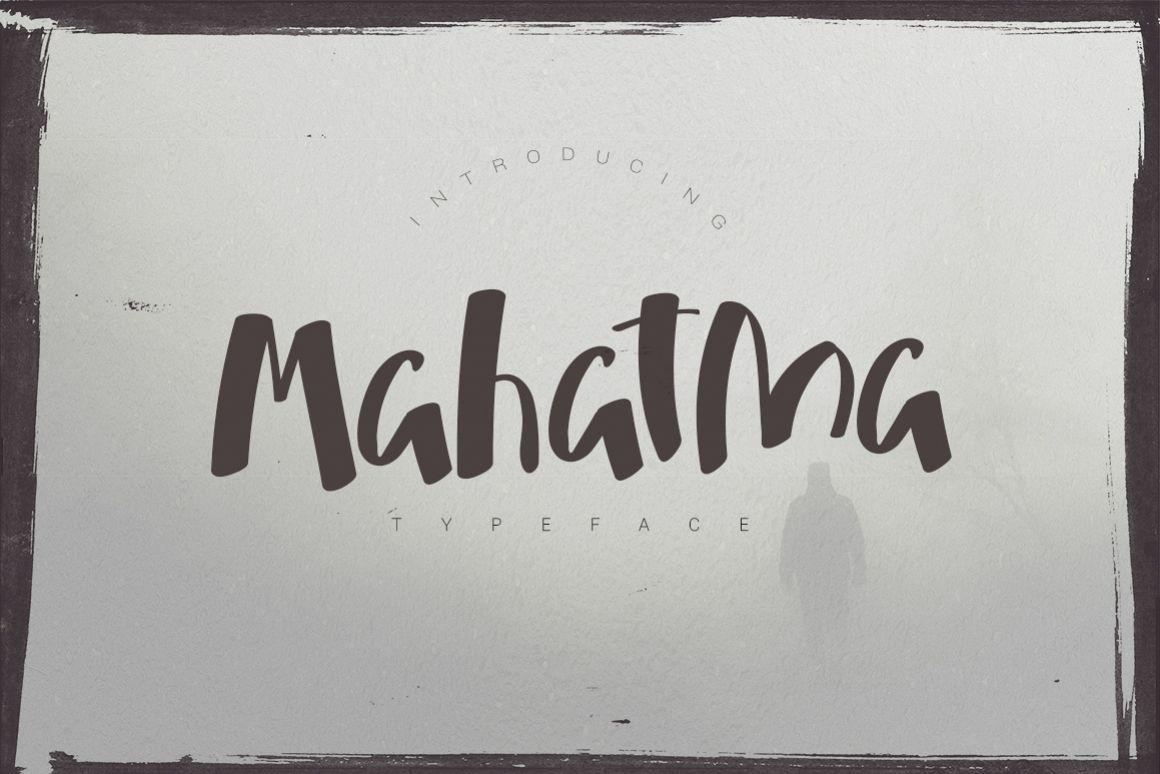 Mahatma Typeface example image 1
