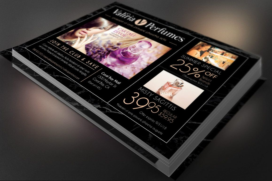Perfume Club Flyer Template example image 1