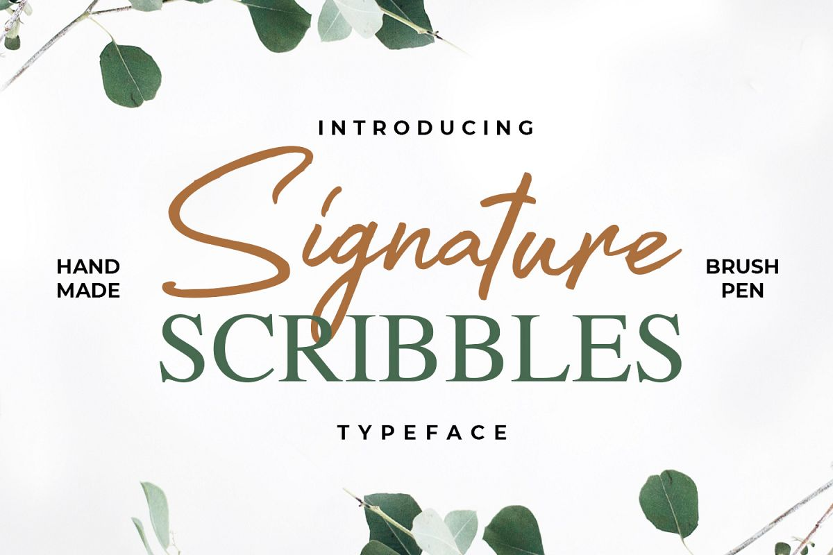 Signature Scribbles example image 1