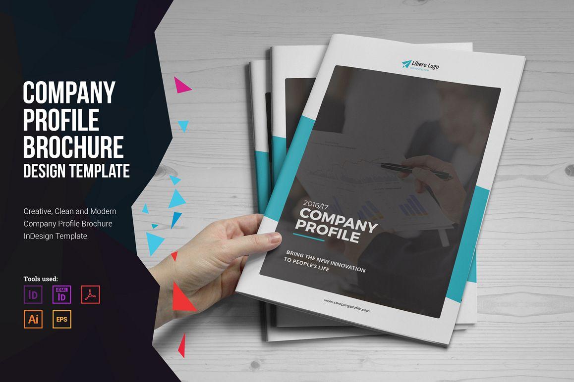 Company Profile Brochure Design v1 by M | Design Bundles