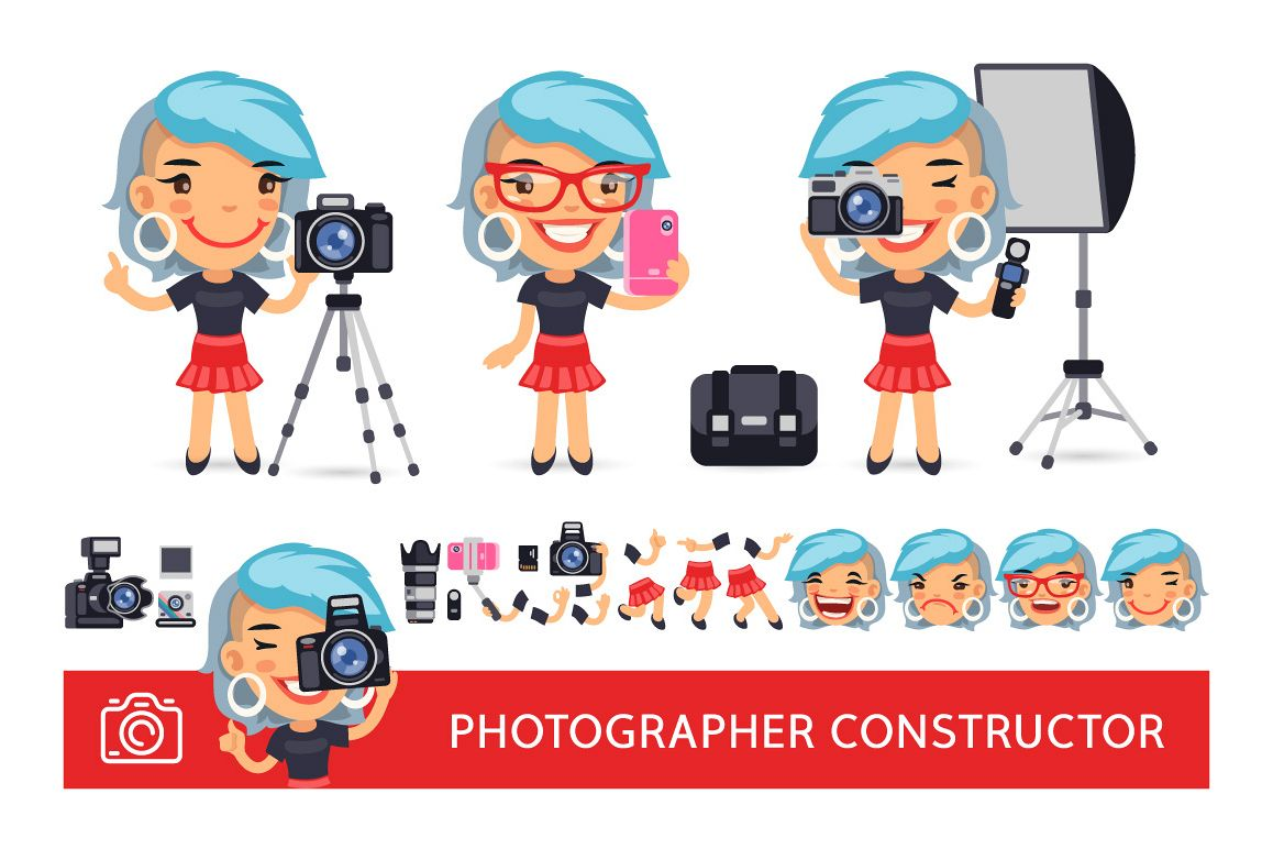 Photographer Woman Construtor example image 1