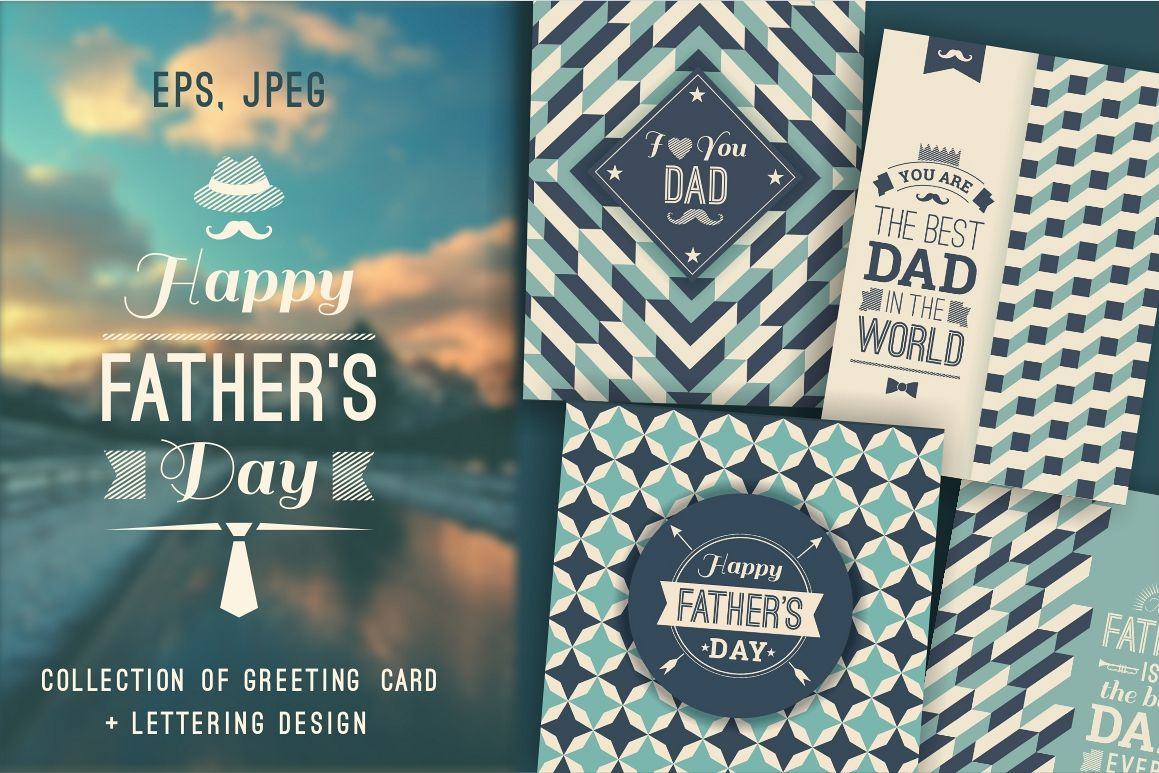 12 Greeting Cards For Fathers Day