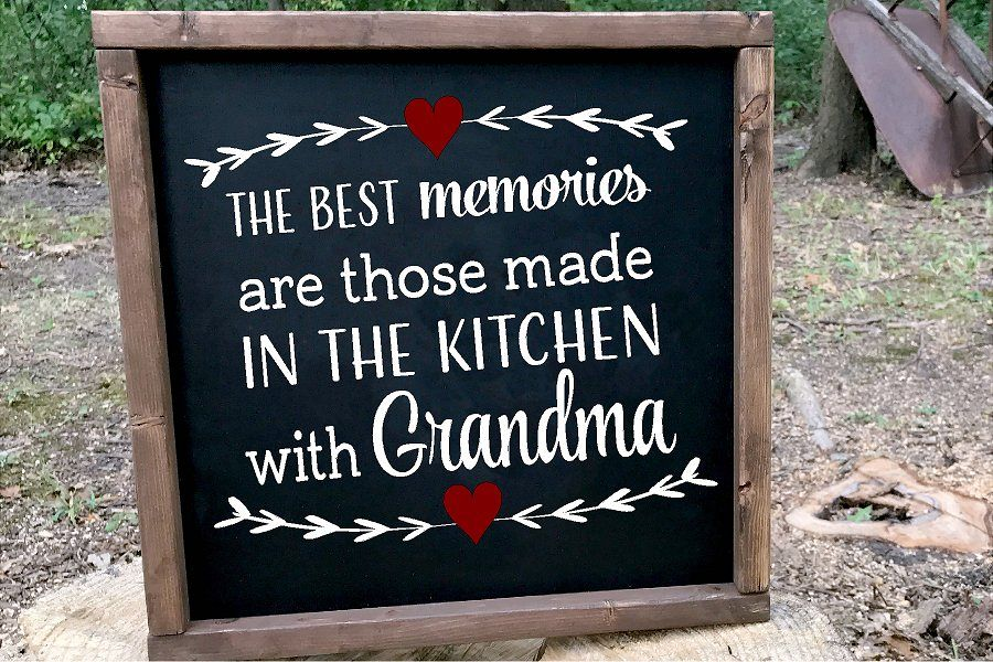Best Memories Are Made In Grandma's Kitchen SVG example image 1