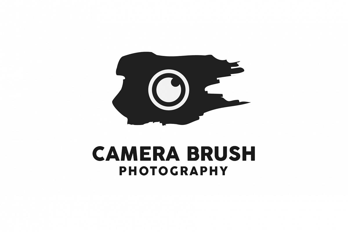 Camera Brush Logo example image 1