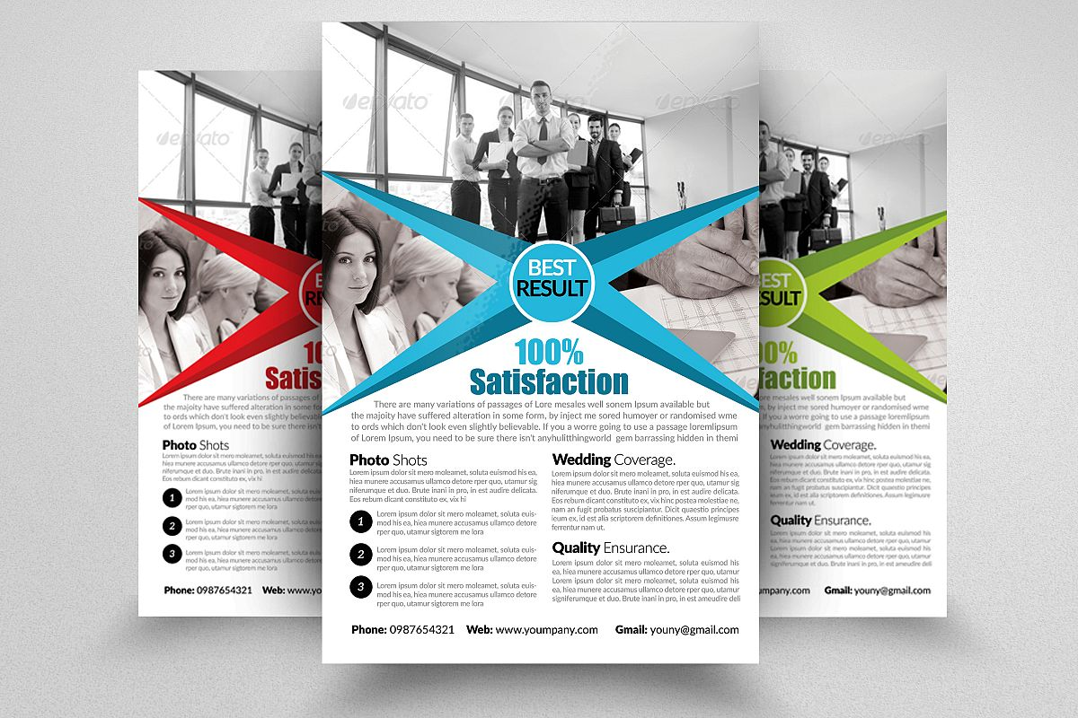 Human Resources Management Consulting Flyer example image 1