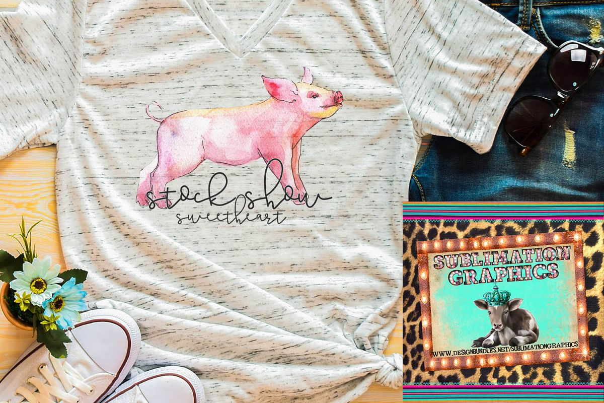 Stock Show Sweetheart Sublimation Digital Download example image 1