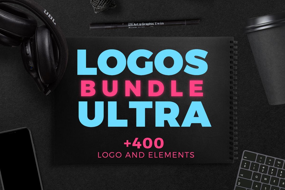 Logo Ultra Bundle - Massive professional logo collection example image 1