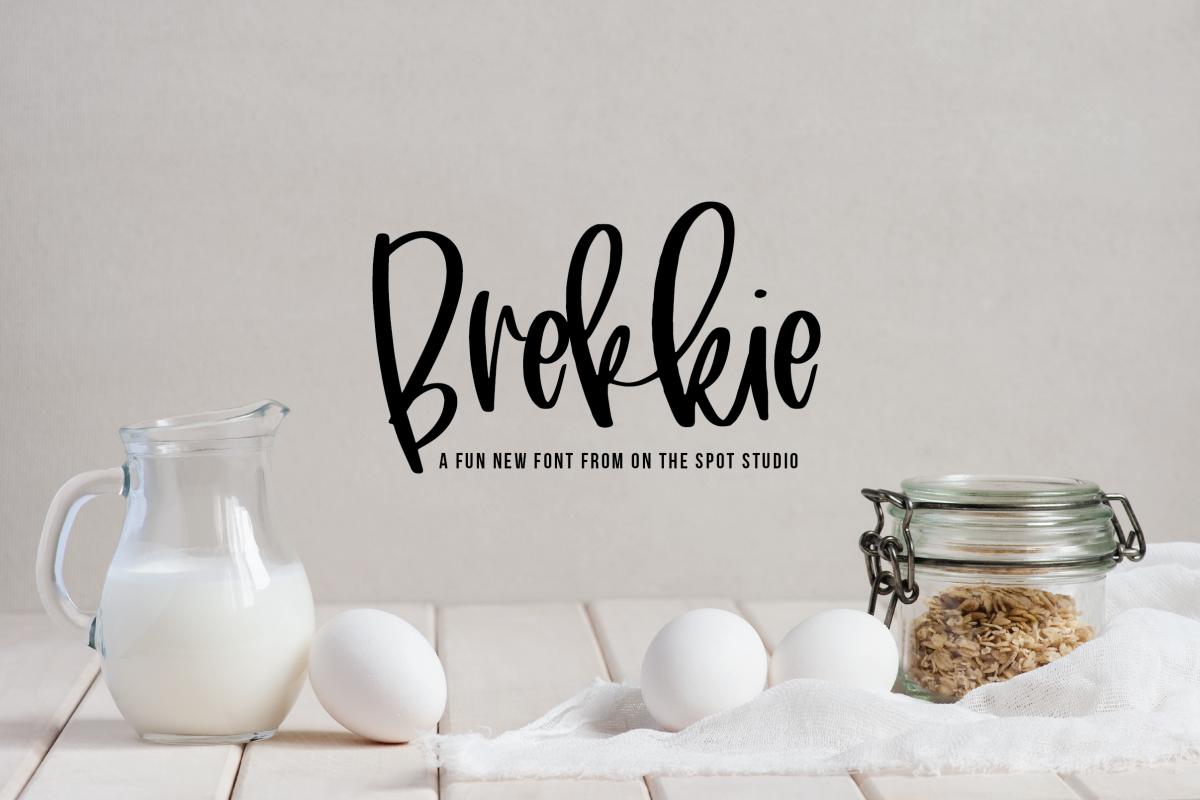 Brekkie example image 1