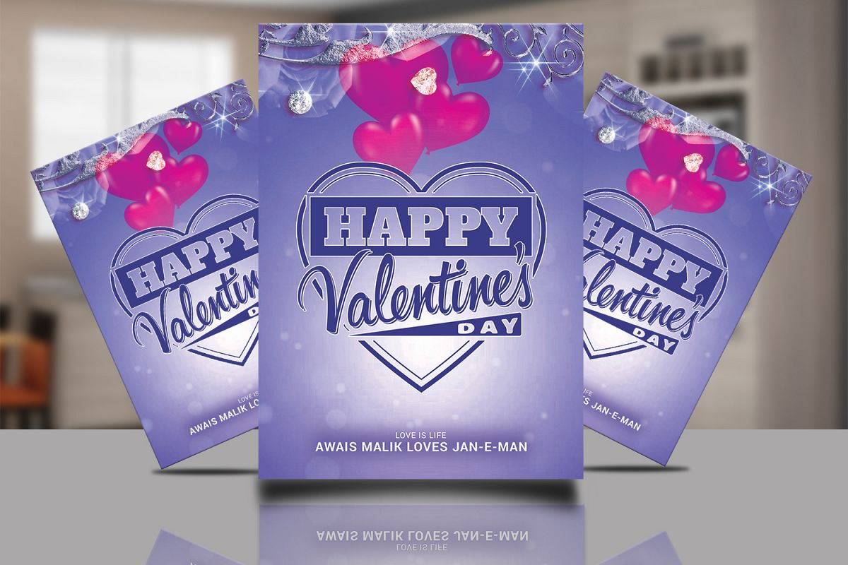 Valentine Flyer Template example image 1