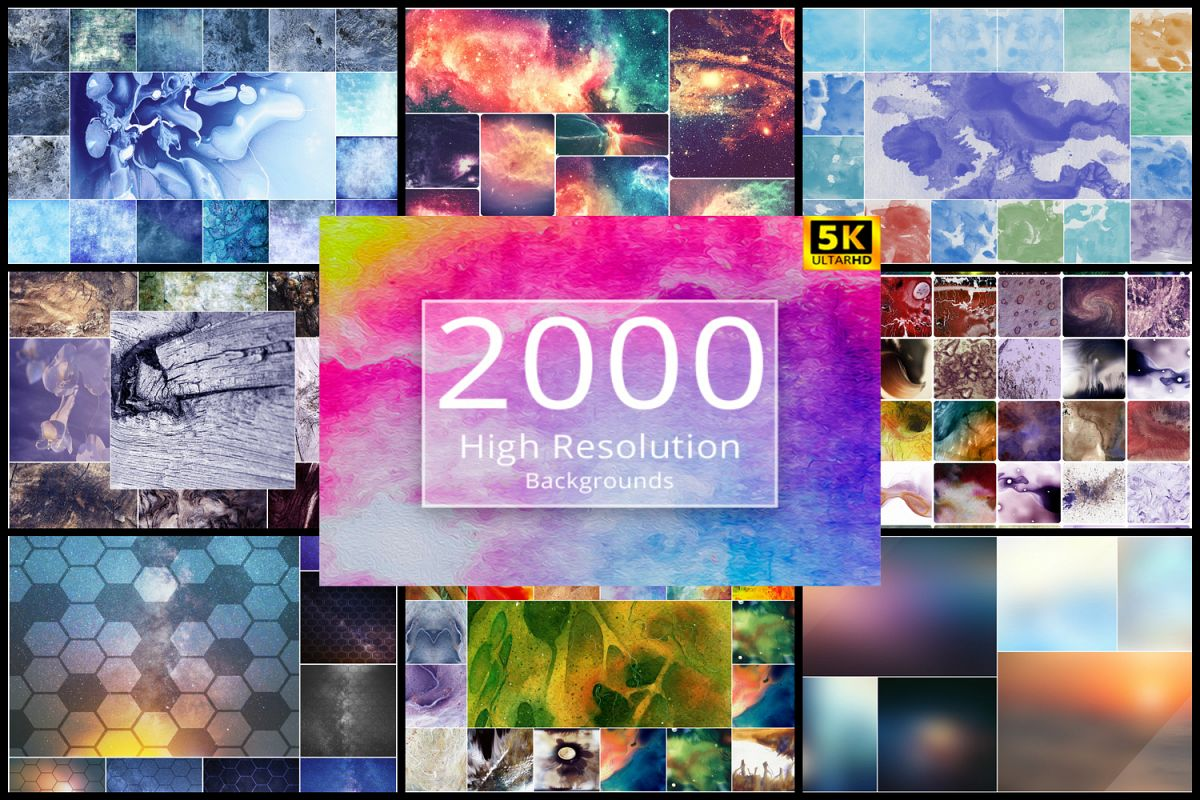 2000 High Resolution Backgrounds example image 1