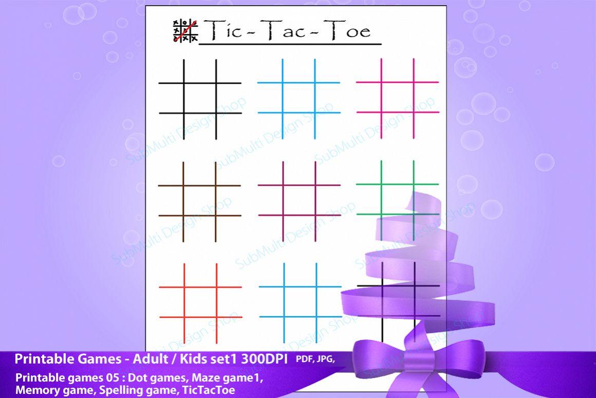 Adult game printable
