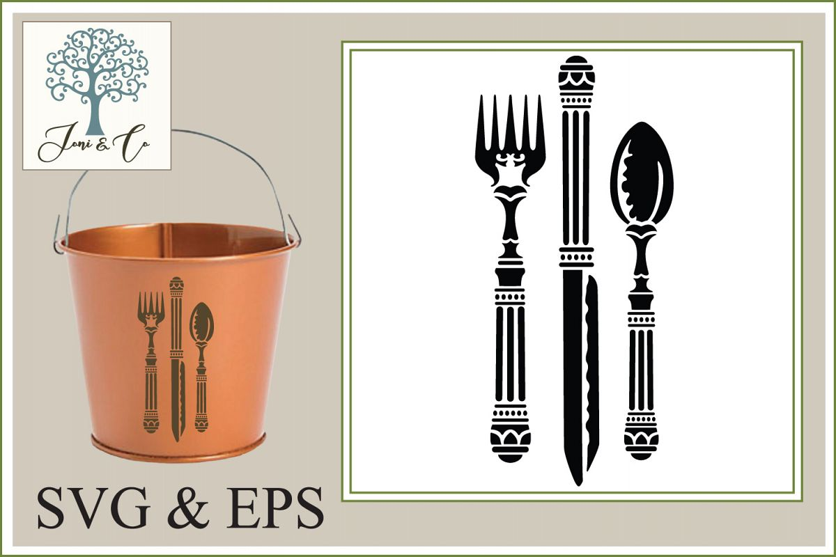 Knife, Fork and Spoon  example image 1