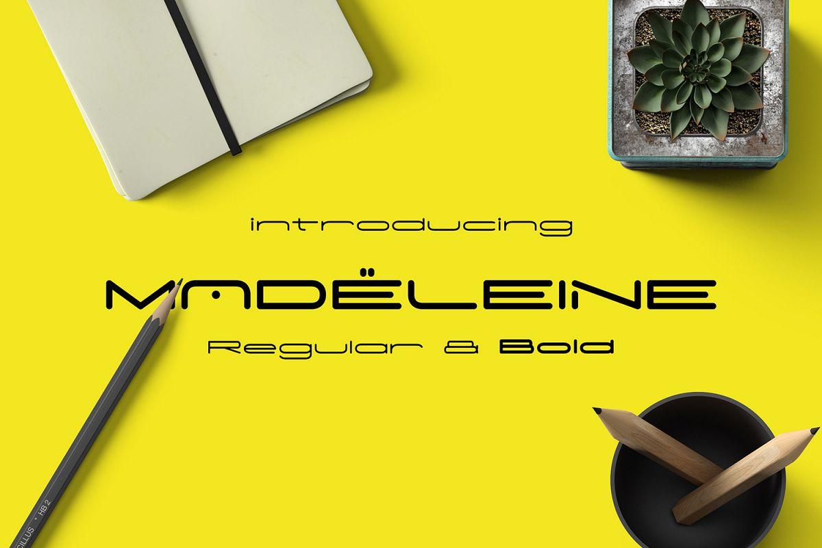 Madeleine Typeface example image 1