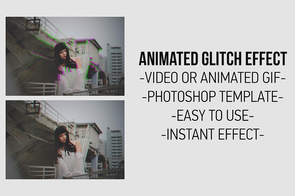 Glitch Effect Gif Maker